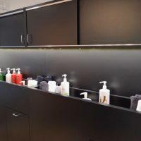 Hair Studio 1208 shampoo display